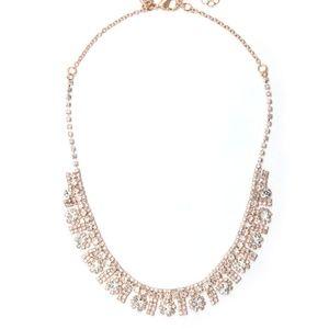 Majestic Crystal Bib Necklace